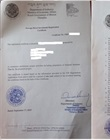 FDI registration certificate
