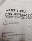 Sanitary/ sewerage drawing